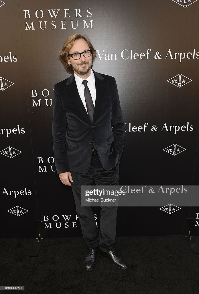 Nicolas Bos, Global CEO and Creative Director at Van Cleef & Arpels attends A Quest for Beauty: The Art Of Van Cleef & Arpels at The Bowers Museum on October 26, 2013 in Santa Ana, California.