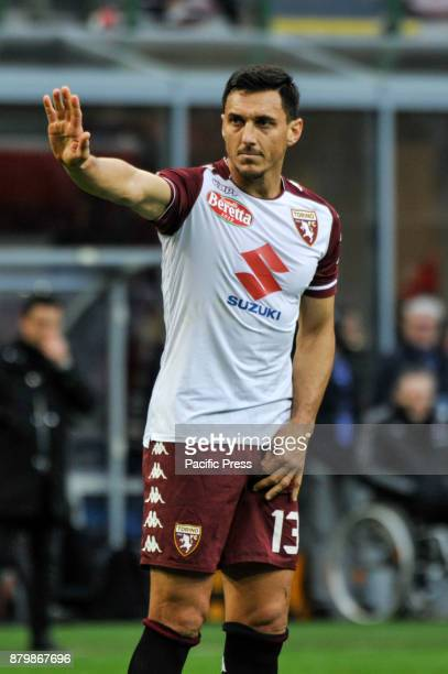 Nicolas Burdisso of Torino FC during Italian serie A match AC Milan vs Torino FC at San Siro Stadium The Italian Serie A match between AC Milan and...