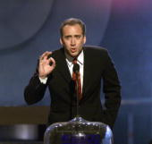 Nicolas Cage at the MTV Movie Awards 2000 at Sony Pictures Studio in Culver City CA on June 3 2000