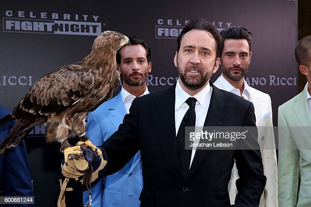 Nicolas Cage attends the Basilica di Santa Croce Dinner and Reception as part of Celebrity Fight Night Italy benefitting the Andrea Bocelli...