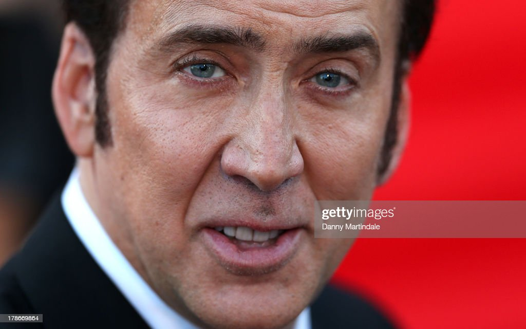 <a gi-track='captionPersonalityLinkClicked' href=/galleries/search?phrase=Nicolas+Cage&family=editorial&specificpeople=196531 ng-click='$event.stopPropagation()'>Nicolas Cage</a> attends the 'Joe' Premiere during The 70th Venice International Film Festival at Palazzo Del Cinema on August 30, 2013 in Venice, Italy.
