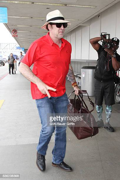 Nicolas Cage is seen at LAX on May 31 2016 in Los Angeles California