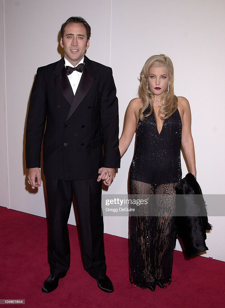 <a gi-track='captionPersonalityLinkClicked' href=/galleries/search?phrase=Nicolas+Cage&family=editorial&specificpeople=196531 ng-click='$event.stopPropagation()'>Nicolas Cage</a> & <a gi-track='captionPersonalityLinkClicked' href=/galleries/search?phrase=Lisa+Marie+Presley&family=editorial&specificpeople=202037 ng-click='$event.stopPropagation()'>Lisa Marie Presley</a> during The 16th Annual American Cinematheque Award Honoring <a gi-track='captionPersonalityLinkClicked' href=/galleries/search?phrase=Nicolas+Cage&family=editorial&specificpeople=196531 ng-click='$event.stopPropagation()'>Nicolas Cage</a> at Beverly Hilton Hotel in Beverly Hills, California, United States.