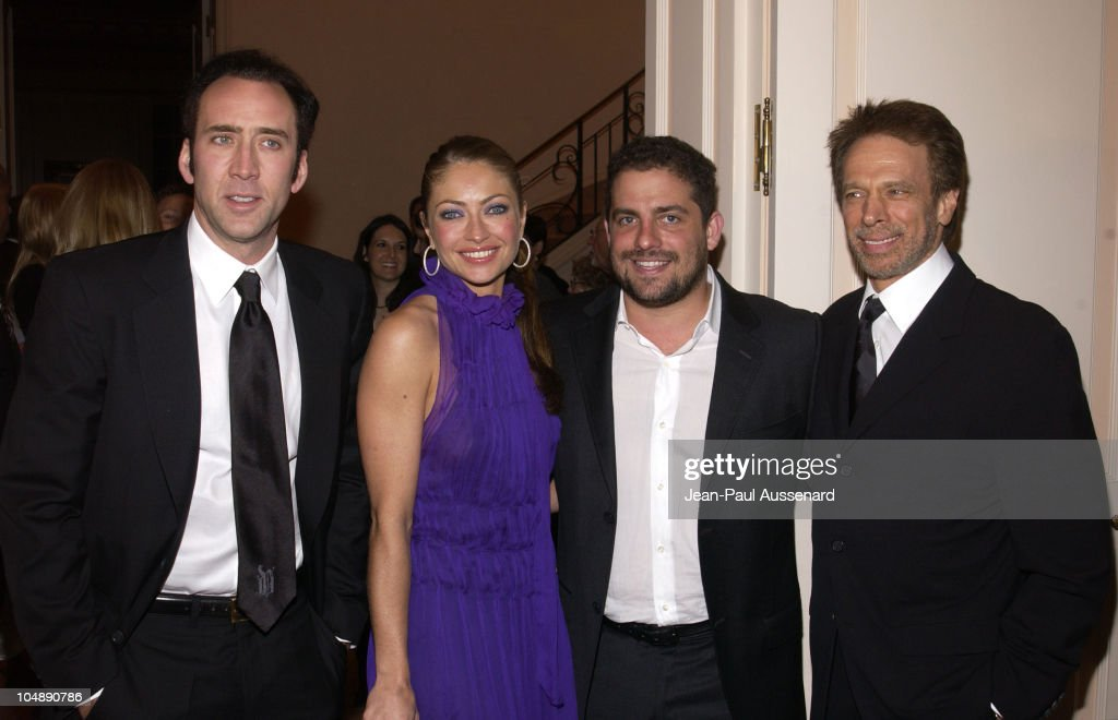 Nicolas Cage Rebecca Gayheart Brett Ratner Jerry Bruckheimer