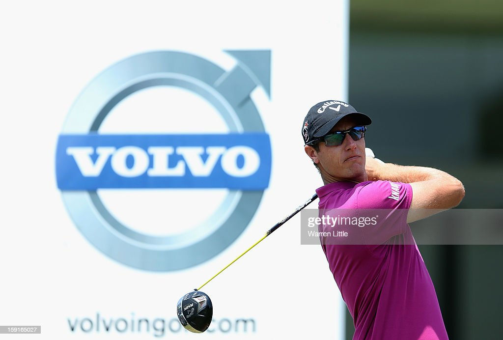 Nicolas Colsarts of Belgium in action during the Pro-Am for the Volvo Golf Champions at Durban Country Club on January 9, 2013 in Durban, South Africa.