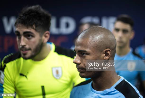 Nicolas de la Cruz of Uruguay is seen prior to the FIFA U20 World Cup Korea Republic 2017 Semi Final match between Uruguay and Venezuela at Daejeon...