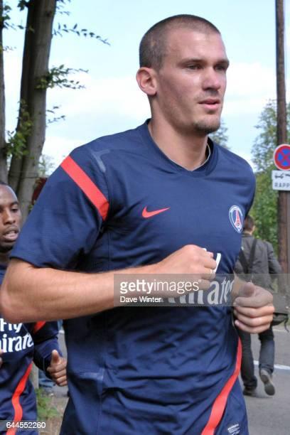 Nicolas DOUCHEZ Reprise du PSG 2011/2012 Camp des Loges Photo Dave Winter / Icon Sport