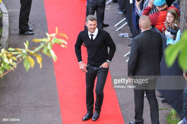 Nicolas Douchez of Lens during the ceremony for the UNFP Trophy Awards on May 15 2017 in Paris France