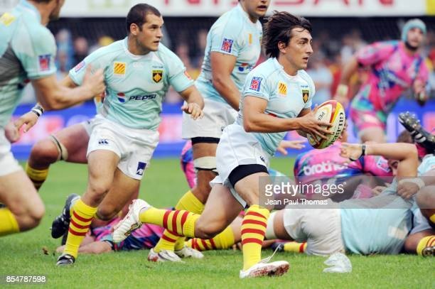 Nicolas DURAND Stade Francais / Perpignan 3eme journee de Top 14