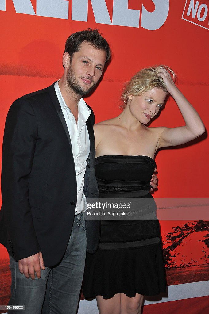 Nicolas Duvauchelle and Melanie Thierry attend 'Comme Des Freres' Premiere at Cinema Gaumont Opera on November 15, 2012 in Paris, France.