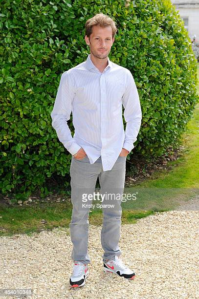 Nicolas Duvauchelle attends the 'Maintenant Ou Jamais' Photocall at Hotel Mercure during the 7th Angouleme FrenchSpeaking Film Festival on August 23...