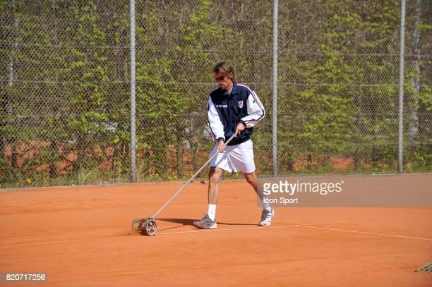 Nicolas ESCUDE Fed Cup 2010