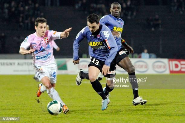 Nicolas FARINA / Cedric BOCKHORNI Evian Thonon Gaillard / Clermont Foot 27eme journee de Ligue 2