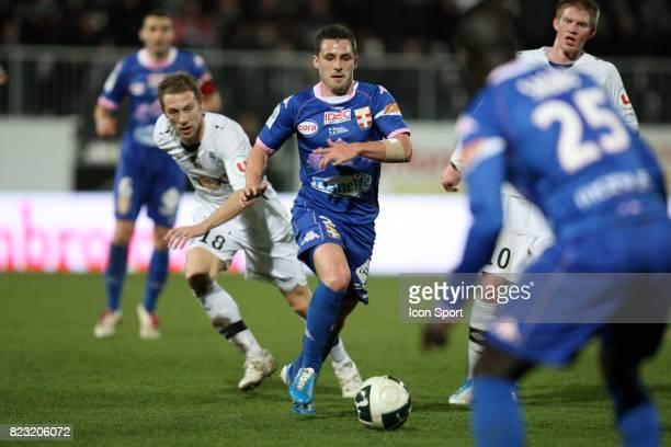 Nicolas FARINA / David DE FREITAS Angers / Evian Thonon 28e journee Ligue 2