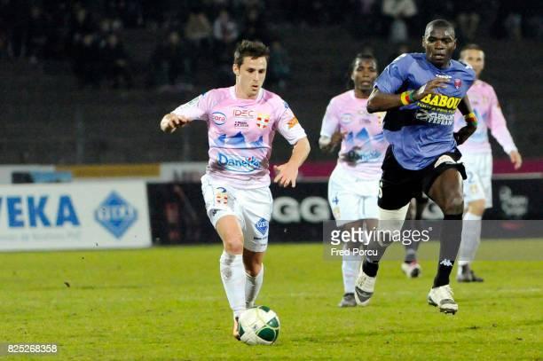 Nicolas FARINA / Eugene Claude EKOBO Evian Thonon Gaillard / Clermont Foot 27eme journee de Ligue 2