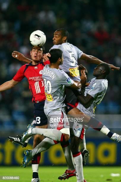 Nicolas FAUVERGUE / Cedric KANTE Lille / Nice 8e journee Ligue 1
