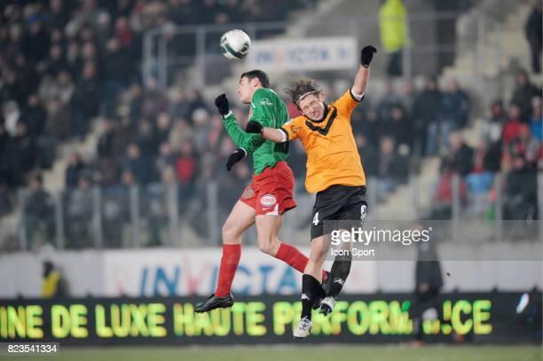 Nicolas FAUVERGUE / Grzegorz KRYCHOWIAK Sedan / Reims 17eme journee de Ligue 2