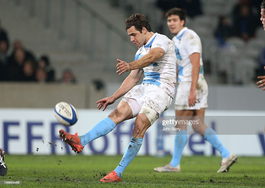 Nicolas Federico Sanchez of Argentina in action during the rugby autumn international between France and Argentina (39-22) at the Grand Stade Lille Metropole on November 17, 2012 in Lille, France.