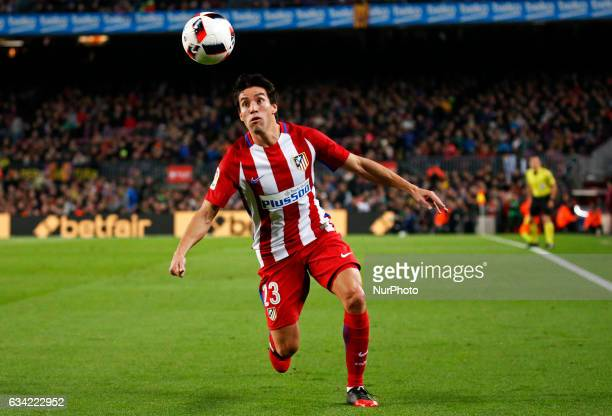 Nicolas Gaitan during the 1/2 final King Cup match between FC Barcelona v Atletico de Madrid in Barcelona on February 07 2017 Photo Joan...