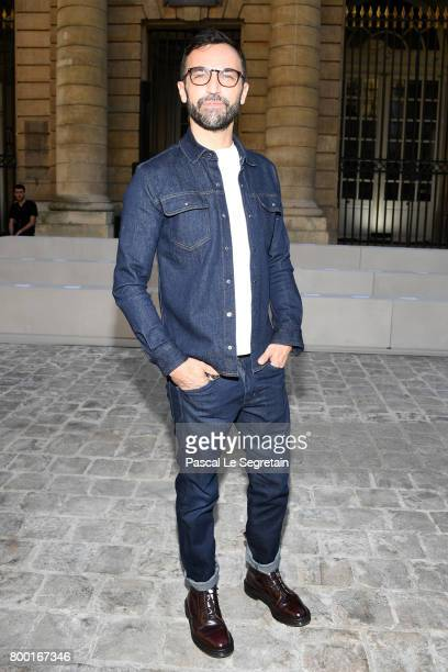 Nicolas Ghesquiere attends the Berluti Menswear Spring/Summer 2018 show as part of Paris Fashion Week on June 23 2017 in Paris France