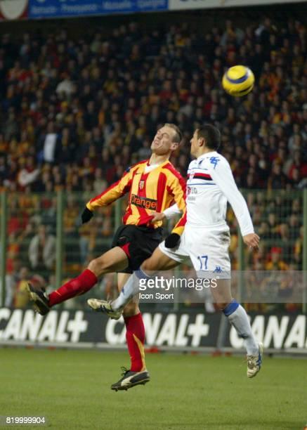 Nicolas GILLET Lens / Sampdoria de Genes Phase de poules de la Coupe de l'Uefa