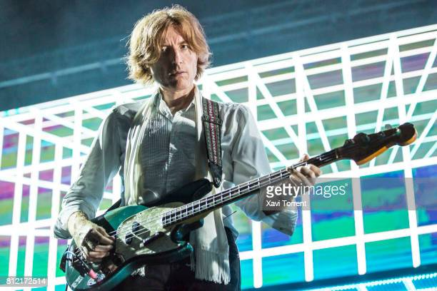 Nicolas Godin of Air performs in concert during the Festival Jardins de Pedralbes on July 10 2017 in Barcelona Spain