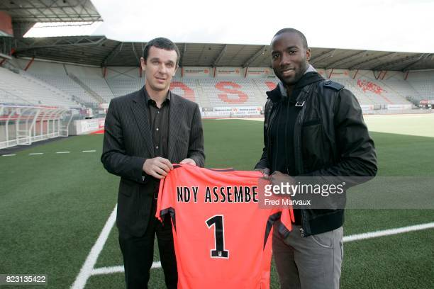 Nicolas HOLVECK / Guy Roland NDY ASSEMBE Nancy Saison 2011/2012 Ligue 1
