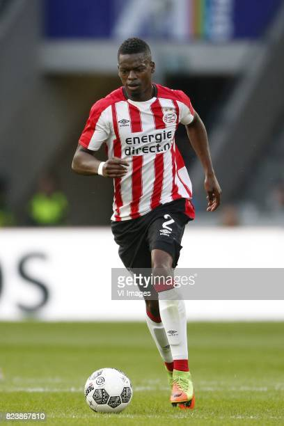 Nicolas IsimatMirin of PSV during the UEFA Europa League third qualifying round first leg match between PSV Eindhoven and Osijek at Philips Stadium...