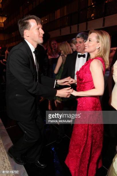 Nicolas Luchsinger and Gillian Miniter attend THE SCHOOL OF AMERICAN BALLET Winter Ball 2010 at David H Koch Theater on March 1 2010 in New York City