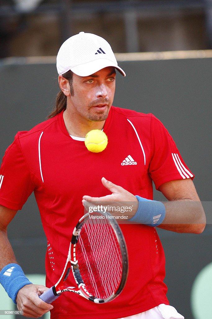 Chile v Austria - Davis Cup 2009 Day 1