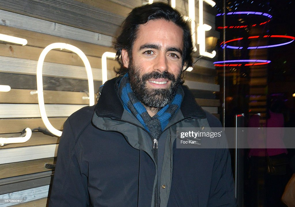 Nicolas Medad attends the MCS 'We The People' launch party at MCS Champs Elysees on November 27, 2012 in Paris, France.