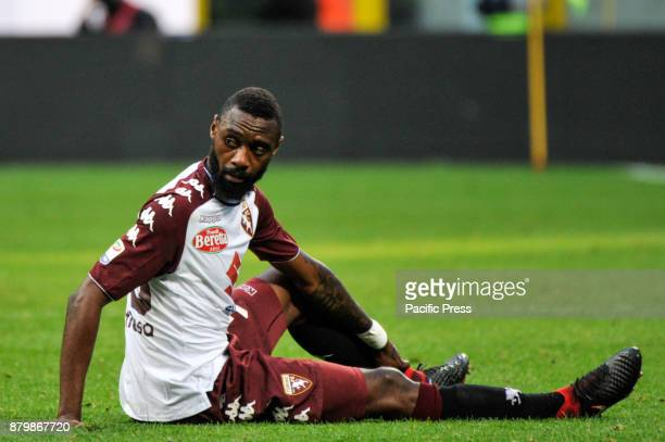 Nicolas N'Kouloun of Torino FC during Italian serie A match AC Milan vs Torino FC at San Siro Stadium The Italian Serie A match between AC Milan and...