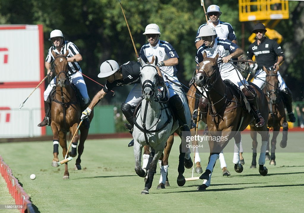 Nicolas Pieres of Ellerstina in action during a polo match between La Dolfina and Ellerstina as part of the 119th Argentina Open Polo Championship Final on December 08, 2012 in Buenos Aires, Argentina.