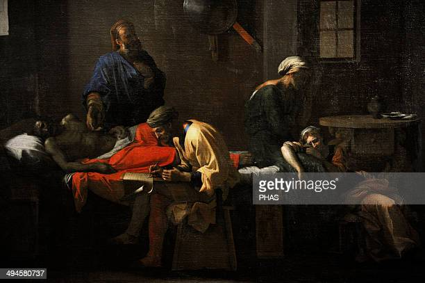 Nicolas Poussin French painter The Testament of Eudamidas 16441648 National Museum of Denmark Copenhagen Denmark