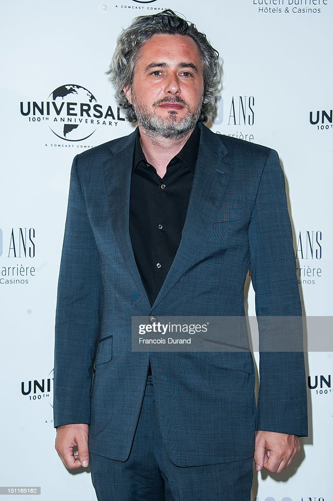 Nicolas Rey attends the 100th anniversary of Universal and Lucien Barriere at Royal Barriere hotel during the 38th Deauville American Film Festival on September 1, 2012 in Deauville, France.