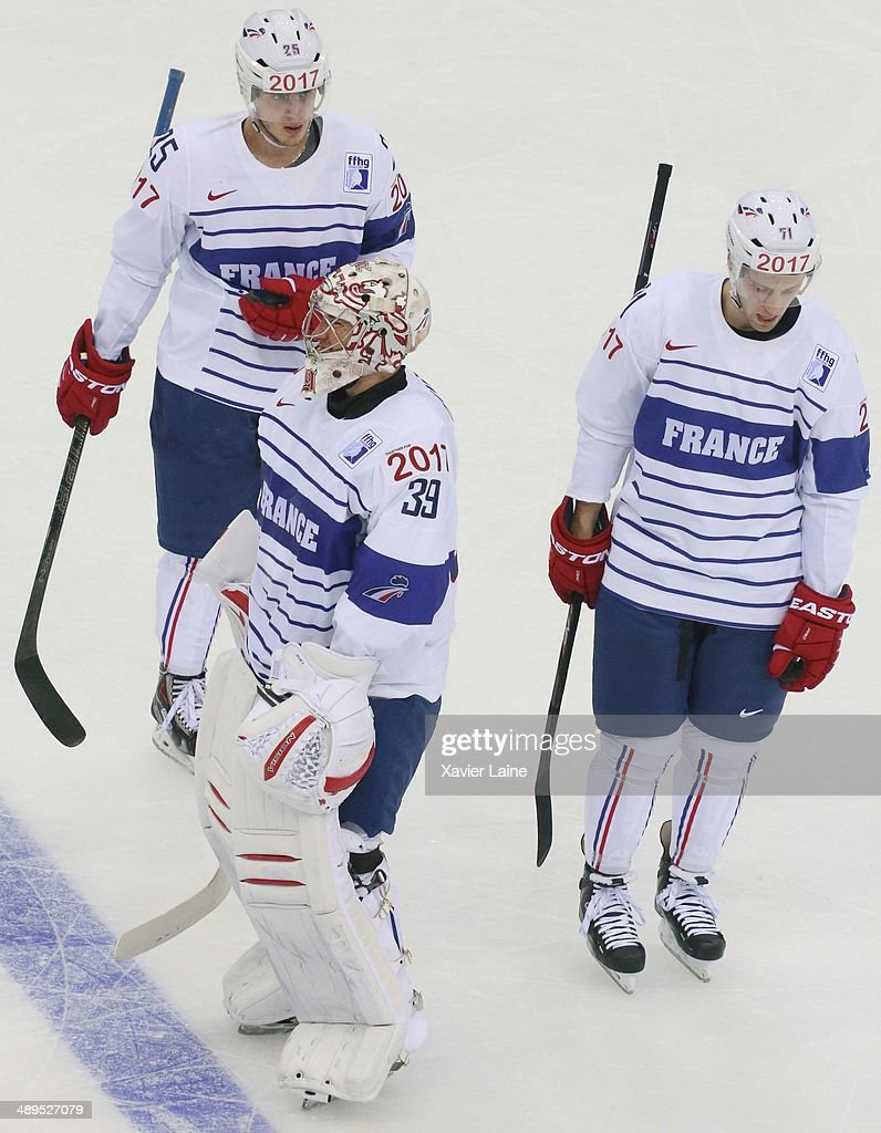 Italy v France - 2014 IIHF World Championship
