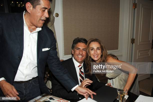 Nicolas Rojas Richard Mishaan and Christina Juarez attend Unveiling of Richard Mishaan's New Book MODERN LUXURY at Presidential Suite on May 20 2009...