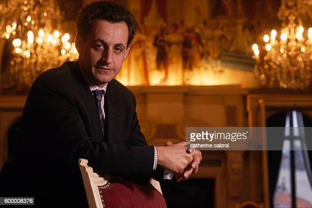 Nicolas Sarkozy, Mayor of Neuilly-sur- Seine.