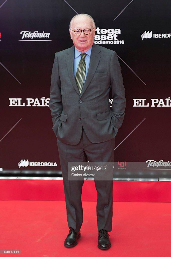 Nicolas Sartorius attends 'Ortega Y Gasset' journalism awards 2016 at Palacio de Cibeles on May 05, 2016 in Madrid, Spain.
