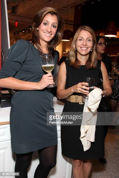 Nicole Amico and Debi Chirichella attend Epicurious 15th Anniversary Dinner at Eataly on September 29 2010 in New York