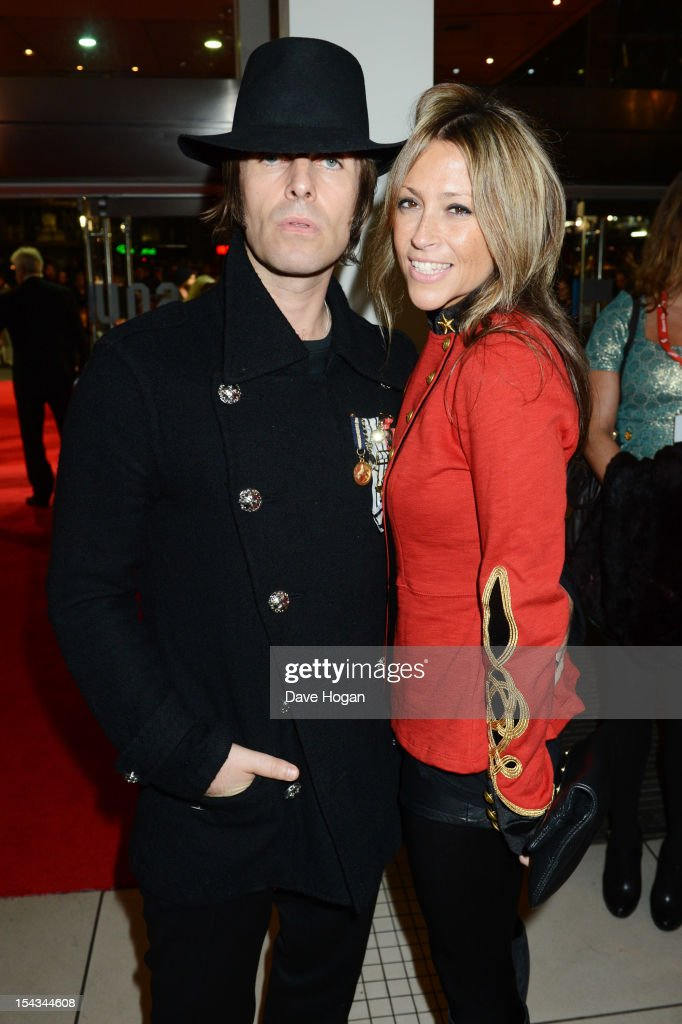<a gi-track='captionPersonalityLinkClicked' href=/galleries/search?phrase=Nicole+Appleton&family=editorial&specificpeople=211518 ng-click='$event.stopPropagation()'>Nicole Appleton</a> and <a gi-track='captionPersonalityLinkClicked' href=/galleries/search?phrase=Liam+Gallagher&family=editorial&specificpeople=202958 ng-click='$event.stopPropagation()'>Liam Gallagher</a> attends the premiere of 'Crossfire Hurricane' during the 56th BFI London Film Festival at The Odeon Leicester Square on October 18, 2012 in London, England.
