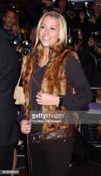Nicole Appleton arrive for the world charity premiere of Alfie at the Empire Leicester Square in central London in aid of MakeAWish foundation