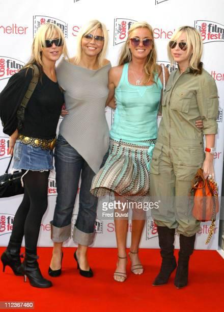 Nicole Appleton Kate Thornton Tamzin Outwaite and Natalie Appleton