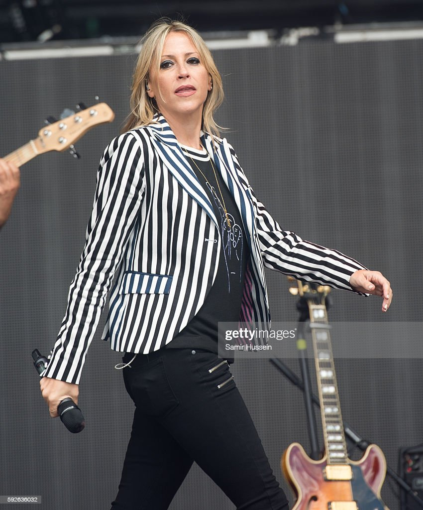 Nicole Appleton performs at V Festival at Hylands Park on August 21 2016 in Chelmsford England