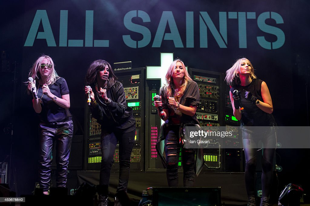 <a gi-track='captionPersonalityLinkClicked' href=/galleries/search?phrase=Nicole+Appleton&family=editorial&specificpeople=211518 ng-click='$event.stopPropagation()'>Nicole Appleton</a>, <a gi-track='captionPersonalityLinkClicked' href=/galleries/search?phrase=Shaznay+Lewis&family=editorial&specificpeople=212735 ng-click='$event.stopPropagation()'>Shaznay Lewis</a>, <a gi-track='captionPersonalityLinkClicked' href=/galleries/search?phrase=Natalie+Appleton&family=editorial&specificpeople=213006 ng-click='$event.stopPropagation()'>Natalie Appleton</a> and <a gi-track='captionPersonalityLinkClicked' href=/galleries/search?phrase=Melanie+Blatt&family=editorial&specificpeople=708098 ng-click='$event.stopPropagation()'>Melanie Blatt</a> of All Saints perform on Day 1 of the V Festival at Hylands Park on August 16, 2014 in Chelmsford, England.