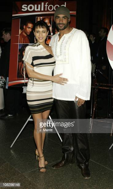 Nicole Ari Parker and Boris Kodjoe during The Premiere Screening of the Original Series 'Soul Food' at Directors Guild of America Theatre in Los...