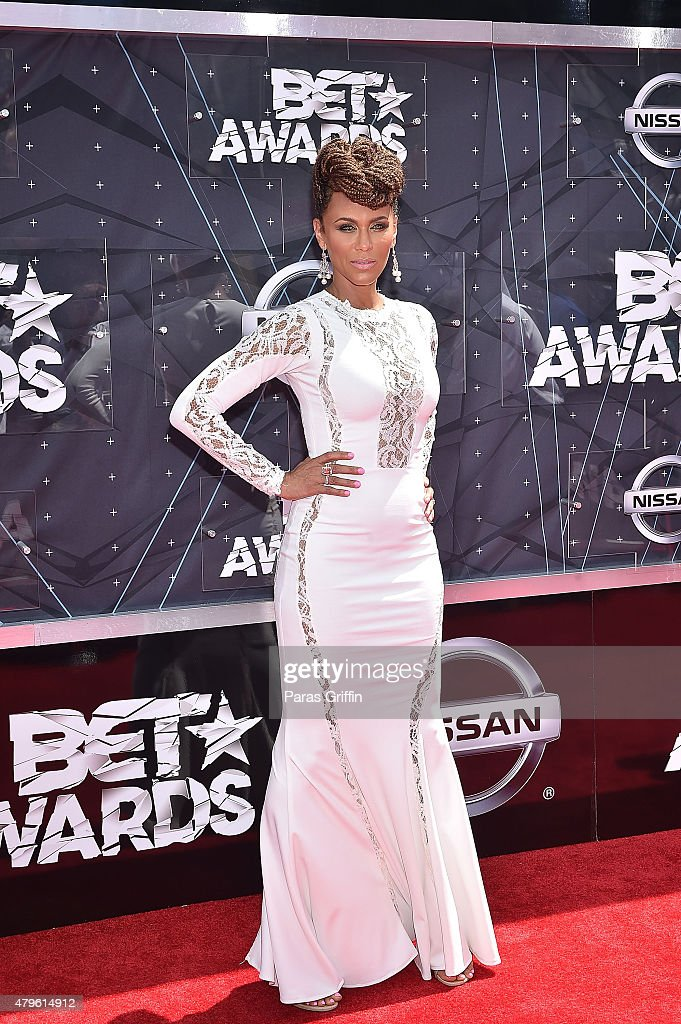Nicole Ari Parker attends the 2015 BET Awards at the Microsoft Theater on June 28 2015 in Los Angeles California