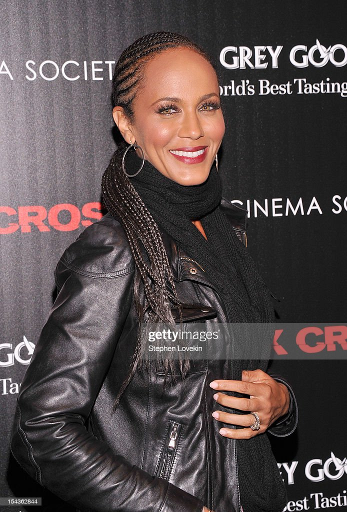 Nicole Ari Parker attends The Cinema Society & Grey Goose Host A Screening Of 'Alex Cross' at Tribeca Grand Hotel on October 18, 2012 in New York City.
