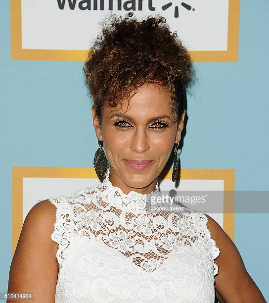 Nicole Ari Parker attends the Essence 9th annual Black Women In Hollywood event at the Beverly Wilshire Four Seasons Hotel on February 25 2016 in...