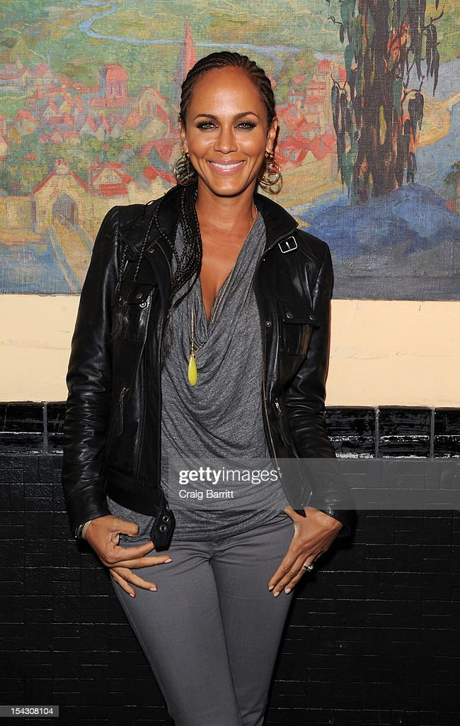 Nicole Ari Parker attends the GEMS Girls Like Us Benefit Gala hosted by Demi Moore And Rachel Lloyd at El Museo Del Barrio on October 17, 2012 in New York City.